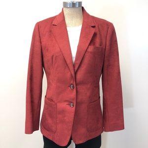 Vintage FARAH womenswear rust red blazer
